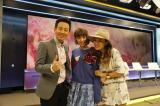 タイで人気の朝のバラエティ情報番組「バーンパラム4」でネイル文化を紹介した南明奈(右)