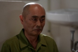 <第4話>日本最大の暴力団道満組組長。15人の殺人に関与、自身も6人を殺害した死刑囚を演じる伊武雅刀。オリジナルドラマ『プリズン・オフィサー』2月1日よりdビデオで独占配信