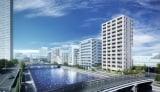 「ルフォンリブレ浜松町 キャナルマークス」完成予想CGパース