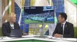 番組MCの津田大介(左)が松本山雅FCの大月弘士社長(右)に迫る(C)テレビ朝日