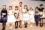 (左から)手塚陽菜、新谷日菜、山下倖和、稲沢朋子、杉澤絆、森愛華、大宮千莉、瑚々(写真:西田周平)