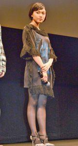 映画『味園ユニバース』完成披露舞台あいさつに出席した二階堂ふみ (C)ORICON NewS inc.