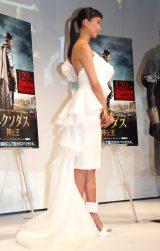 白ドレス姿が美しい杏=映画『エクソダス:神と王』プレミアムコレクション (C)ORICON NewS inc.