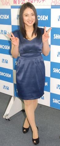 『紗綾リミテッドシリーズ〜2015〜』発売記念握手会に出席した紗綾 (C)ORICON NewS inc.
