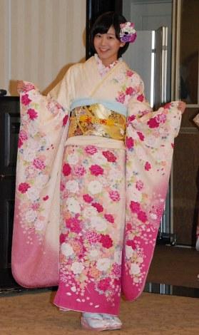 神田明神で成人式記念撮影会を行ったAKB48の太田奈緒 (C)ORICON NewS inc.