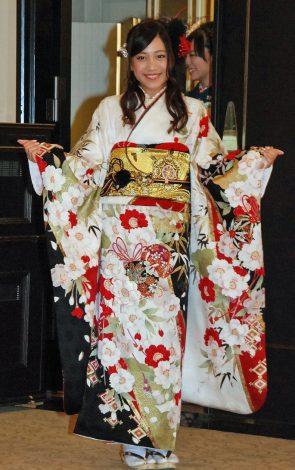 神田明神で成人式記念撮影会を行ったSKE48の斉藤真木子 (C)ORICON NewS inc.