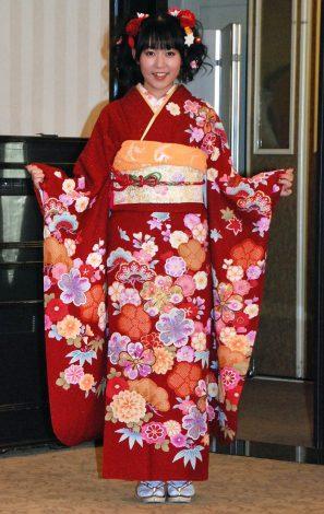 神田明神で成人式記念撮影会を行ったHKT48の多田愛佳 (C)ORICON NewS inc.