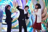 『第36回ABCお笑いグランプリ』で優勝したGAG少年楽団。自分の彼女(宮戸洋行)と見知らぬ男性(坂本純一)との浮気現場に遭遇した男(福井俊太郎)のコントで高得点を獲得(C)ABC