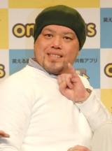 野性爆弾・川島邦裕=アプリ『おもタス』リリース発表会 (C)ORICON NewS inc.
