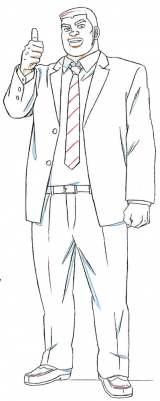剛田猛男の設定画 (C)アルコ・河原和音/集英社・「俺物語!!」製作委員会