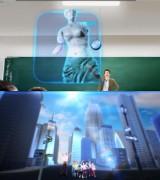 エプソンのアニメーション第2弾『あたかもそこにある!』篇で描かれる、プロジェクション技術が見せる未来の教育の姿
