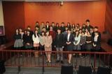 約30人の法学部の学生たちが参加した(C)テレビ朝日
