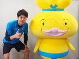 サッカー日本代表の森重真人選手とおでんくんのコラボLINEスタンプ登場