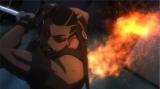 テレビ東京系アニメ『ディスク・ウォーズ:アベンジャーズ』1月21日放送の第42話にヴァンパイア・ハンターのブレイドが登場(C)2015 MARVEL