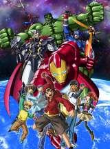 マーベル・コミックスをローカライズしたアニメ『ディスク・ウォーズ:アベンジャーズ』キービジュアル(C)2015 MARVEL