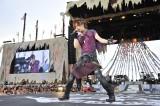 VAMPS夏の野外イベント『BEAST PARTY』23日公演でオープニングアクトを務めたDAIGO(写真:今元秀明/岡田貴之)