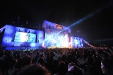 VAMPS夏の野外イベント『BEAST PARTY』23日公演より(写真:今元秀明/岡田貴之)