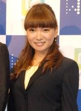 エンタープライズアプリ『HUE』新製品発表会に出席した保田圭 (C)ORICON NewS inc.