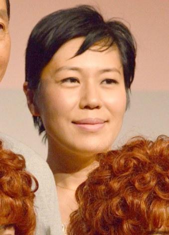 ミュージカル『Annie』製作発表に出席した青木さやか (C)ORICON NewS inc.