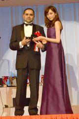 『第26回 日本ジュエリー ベストドレッサー』表彰式に出席した桐谷美玲 (C)ORICON NewS inc.