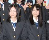 DVD『イッテ恋48 Vol.1』発売記念イベントに出席した松井珠理奈(左)と松井玲奈 (C)ORICON DD inc.