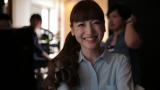 アサヒのフルーツ&ナッツ菓子『キレイな間食』の新CMに出演する神田沙也加