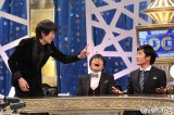 フジテレビ系『オモクリ監督〜O−Creator's TV show〜』のレギュラー監督(左から)千原ジュニア、バカリズム、劇団ひとり