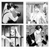 KAT-TUNメンバーが『ジョーカー・ゲーム』D機関のスパイだったら…亀梨和也、中丸雄一、田口淳之介、上田竜也(左上から時計回り)(C)霜月かよ子/小学館