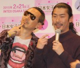 似てると話題に スイーツ番長(左)とパンサーの菅良太郎.JPG (C)ORICON NewS inc.