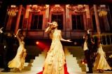 シャンパンゴールド ロングドレス