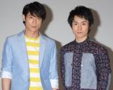 BeeTVドラマ『君と僕との約束』で主演を務めるEXILEのKEIJIとTETSUYA (C)ORICON DD inc.