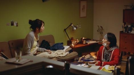 レオパレス21新CM「ドラマ・学割」篇に出演する(左から)堀北真希、高杉真宙