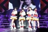 『AKB48リクエストアワー セットリストベスト1035 2015』2日目公演でNot yetが復活(写真左から:北原里英、横山由依、大島優子、指原莉乃) (C)AKS