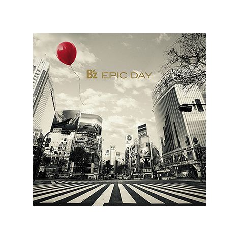 B'z通算19枚目のオリジナルアルバム『EPIC DAY』(3月4日発売)