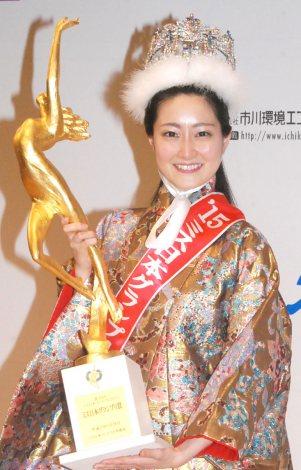 サムネイル グランプリに輝いた日本女子体育大学・芳賀千里さん (C)ORICON NewS inc.