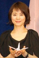 映画『悼む人』の会見に出席した石田ゆり子 (C)ORICON NewS inc.