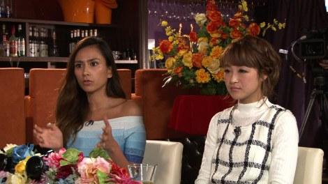 『解決!ナイナイアンサー』場面カット(写真は左から:MALIA、鈴木奈々) (C)日本テレビ
