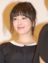 貫地谷しほり=映画『悼む人』完成披露試写会 (C)ORICON NewS inc.