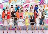 20人体制への再編を発表したE-girls