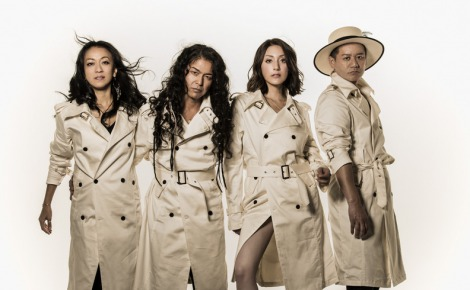 中西圭三プロデュースのダンス&ボーカルユニット「Runningman Tokyo」(左からHISAMI、MARK、Stephanie、KAZU)