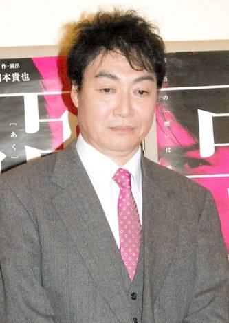 舞台『悪』公開ゲネプロ後取材会に出席した羽場裕一 (C)ORICON NewS inc.