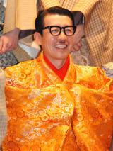 『現代狂言IX』公開げいこ&記者会見に出席した岩井ジョニ男 (C)ORICON NewS inc.