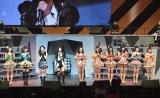 SKE48&NMB48シングル同時発売決定に戸惑うメンバーたち=『AKB48リクエストアワー セットリストベスト1035 2015』3日目 (C)AKS