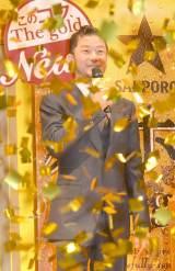 『サッポロ 麦とホップ The gold』新CM発表会に出席した浅野忠信 (C)ORICON NewS inc.