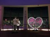 展望台内に設置されるオブジェ「TOGETHER WITH YOU」で恋愛祈願!