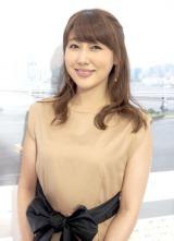 ブログで産休を発表した安めぐみ (C)ORICON NewS inc.