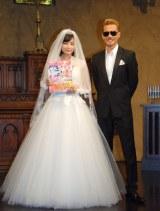 (左から)7代目CMガールの広瀬すず、CMソングを担当するEXILE ATSUSHI/『ゼクシィ』新CM&CMソング発表会 (C)ORICON NewS inc.