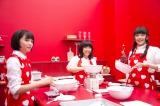ロッテ『ガーナミルクチョコレート』新CM「バレンタイン篇2015」に出演する(左から)広瀬すず、土屋太鳳、松井愛莉