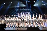 38位「制服の羽根」チーム8=『AKB48リクエストアワー セットリストベスト1035 2015』最終日昼公演(C)AKS