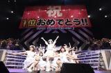 『AKB48リクエストアワー セットリストベスト1035 2015』最終公演 4代目じゃんけん女王の松井珠理奈がセンターを務めた「鈴懸なんちゃら(略称)」が初の1位に(C)AKS